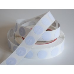 NFC NTAG®213 Round White Sticker Tag - 25mm