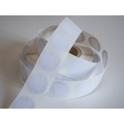 NFC NTAG®213 Round White Sticker Tag - 38mm
