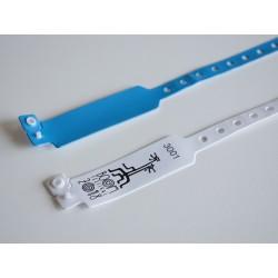 Customized RFID/NFC PVC Adjustable Wristband
