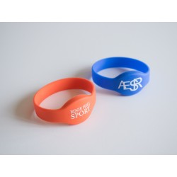 Customizable Silicone RFID/NFC Wristband
