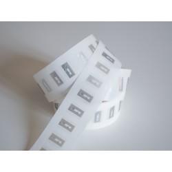 Transparent NFC NTAG®213 Rectangular 15x20mm Sticker Tags