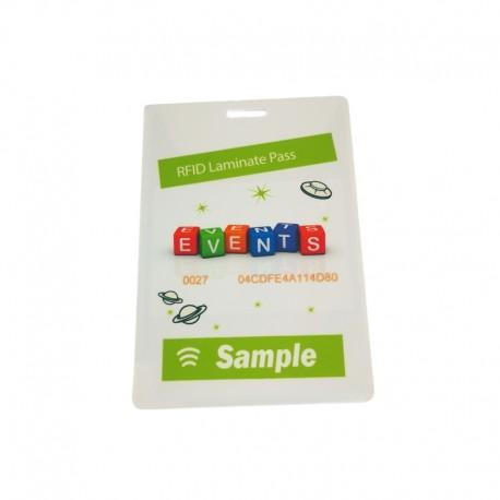 RFID event badge - size medium (M)