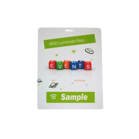 RFID event badge - large size (XL)