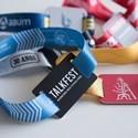 Customized RFID / NFC wristbands